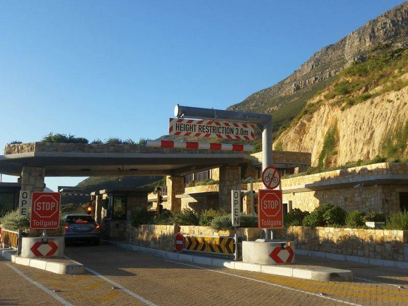 Chapman's Peak Drive: Toll Tariff Increase 2017