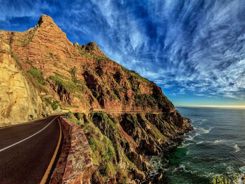 Chapman's Peak Drive - Essential Service during Covid-19 Lockdown