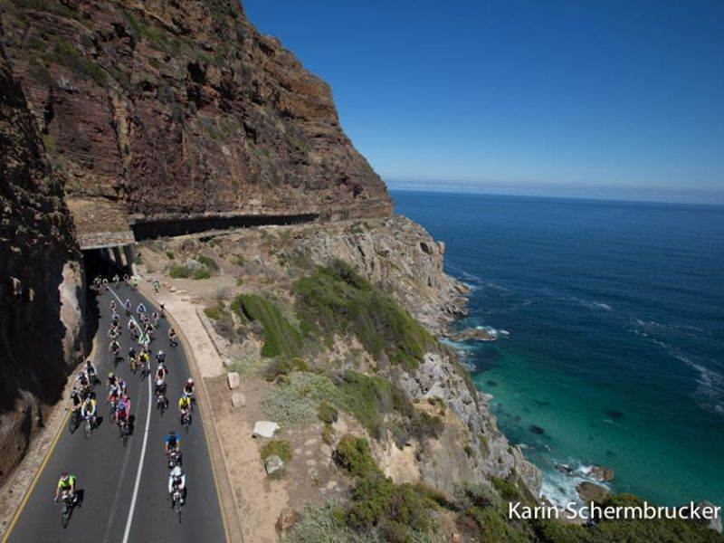 Cape Town Cycle Tour, take the scenic route