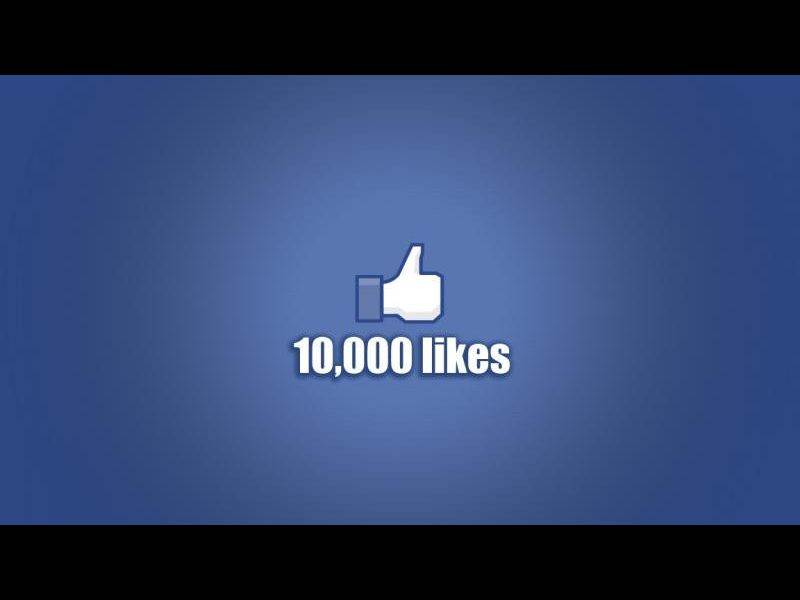 10,000 Page Likes - Thank You