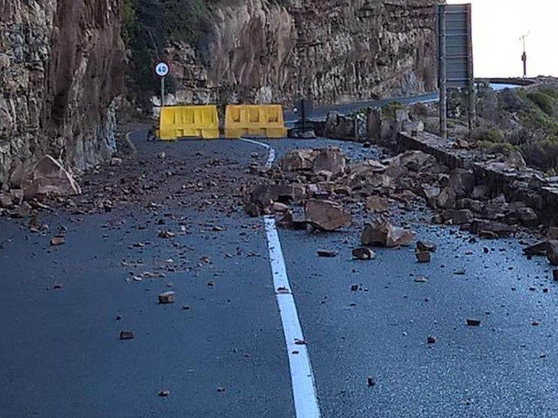 Chapman's Peak Drive closed until further notice