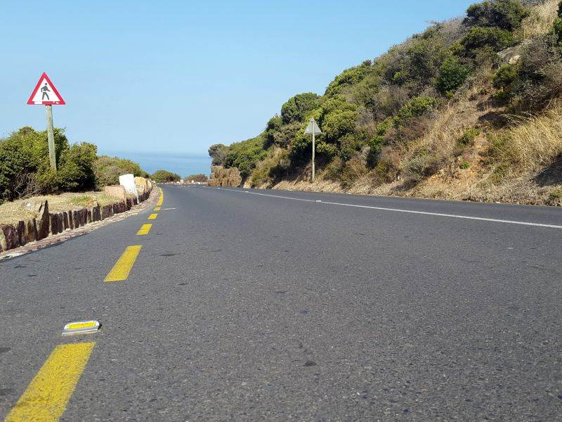 Re-surfacing of Chapmans Peak Drive